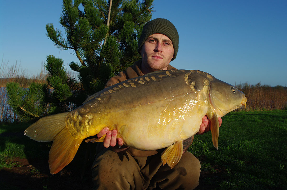28-00 caught on Boilies