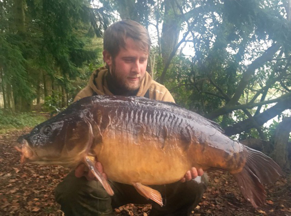 32-05 caught on Boilies