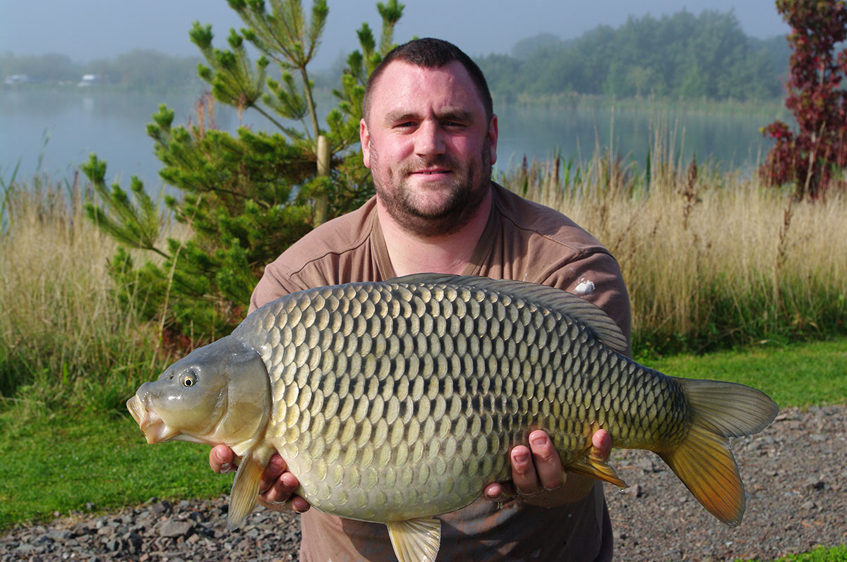 18lb 0oz caught on Corn wafter