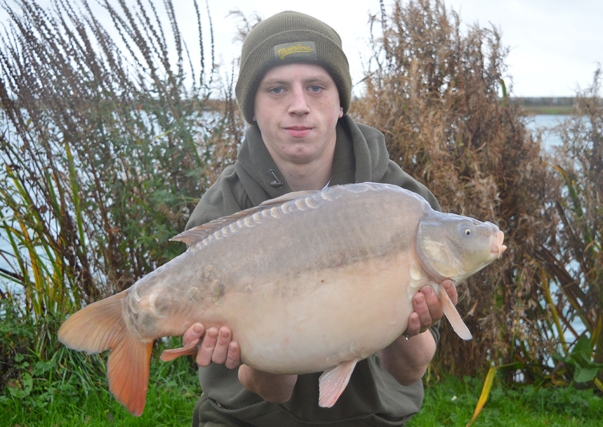 18-08 caught on Boilies