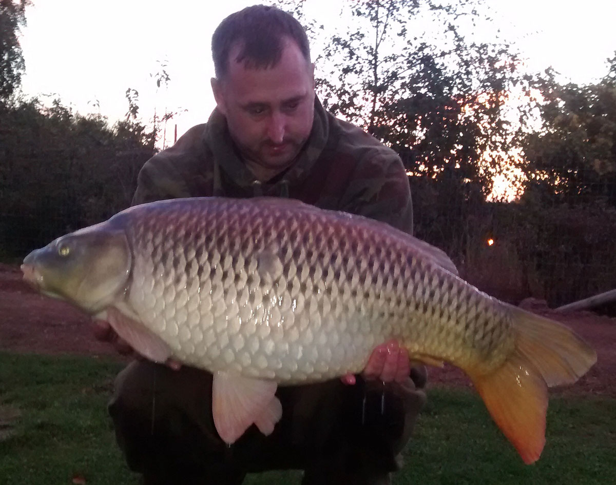 23-06 caught on boilie pop up