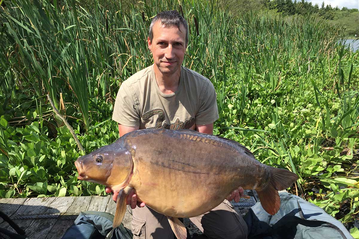 38lb caught on  Boilies