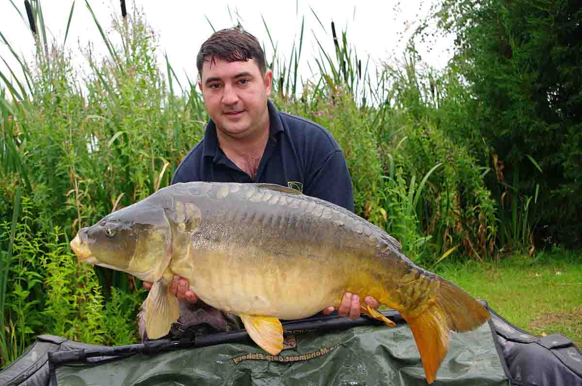 26-00 caught on Sweetcorn