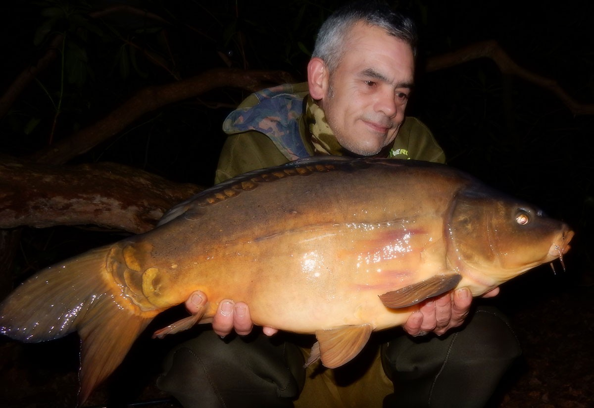 17-00 caught on Boilies