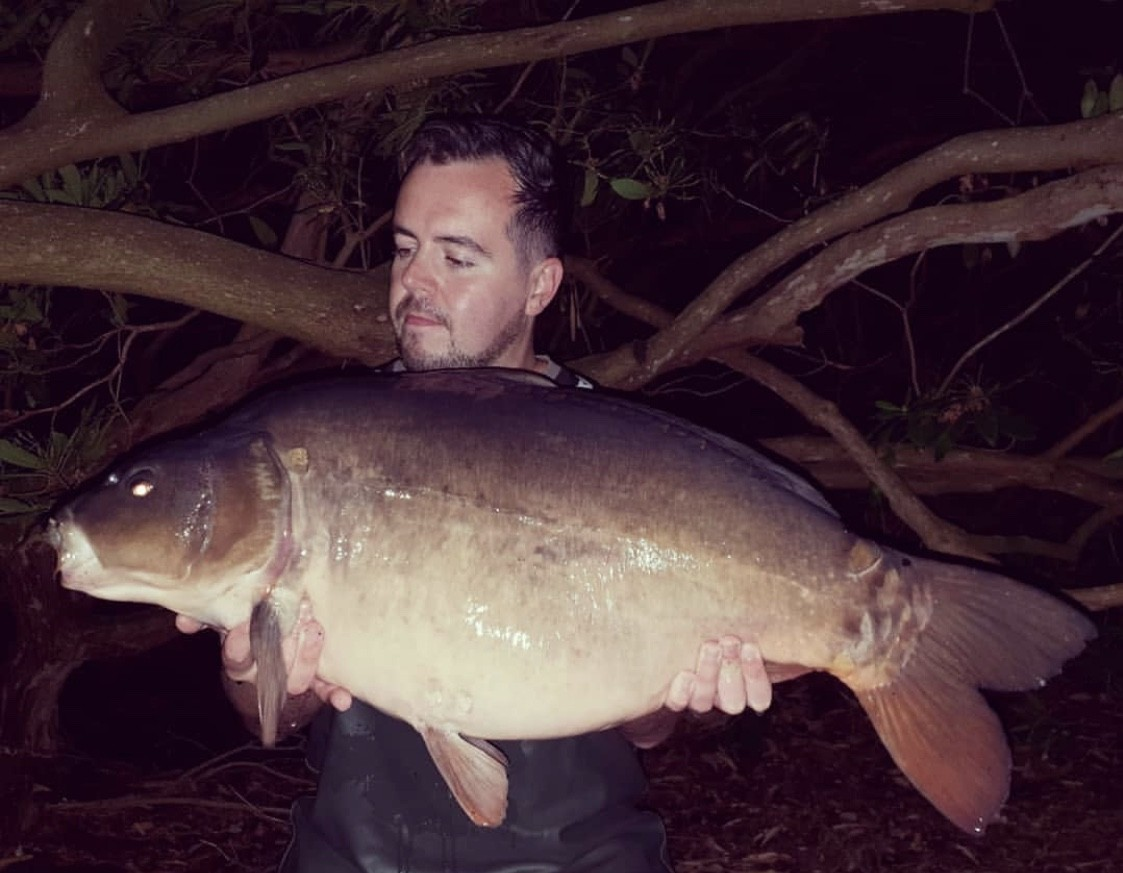 31lb 0oz caught on Bolies