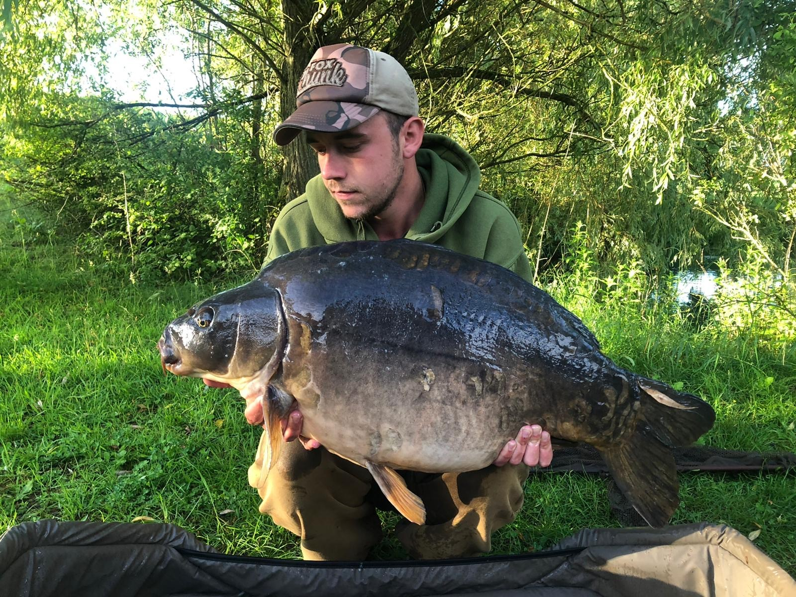 35lb 08oz 'Moonscale'  caught on