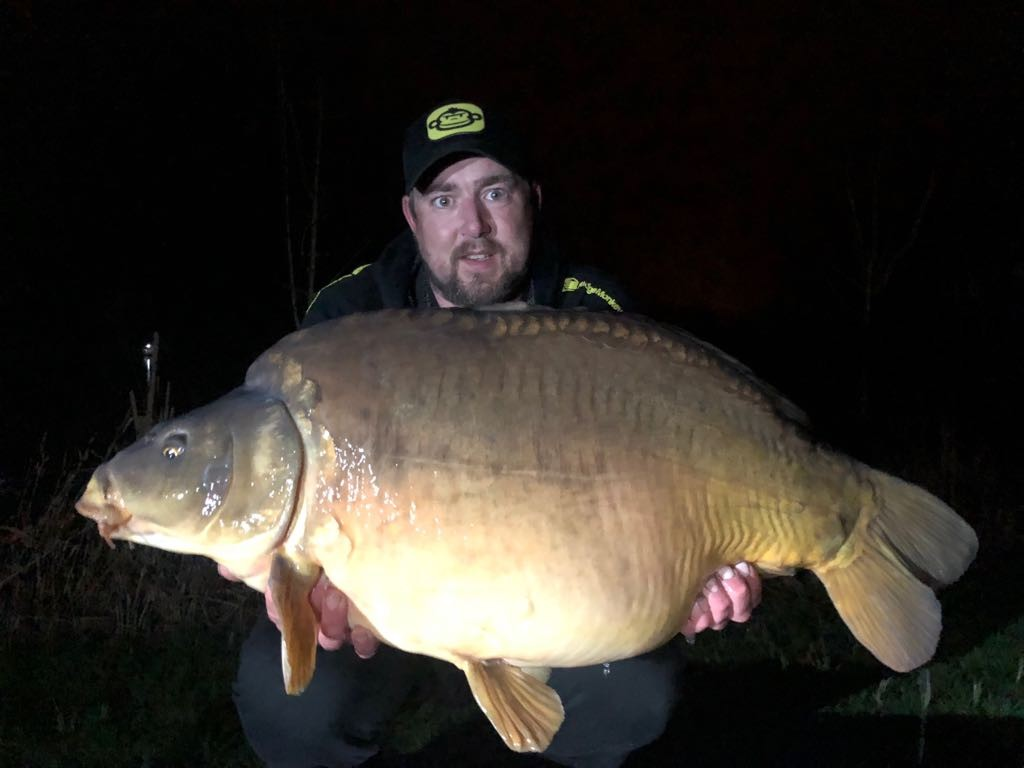 'Humpy' 35lb 12oz caught on