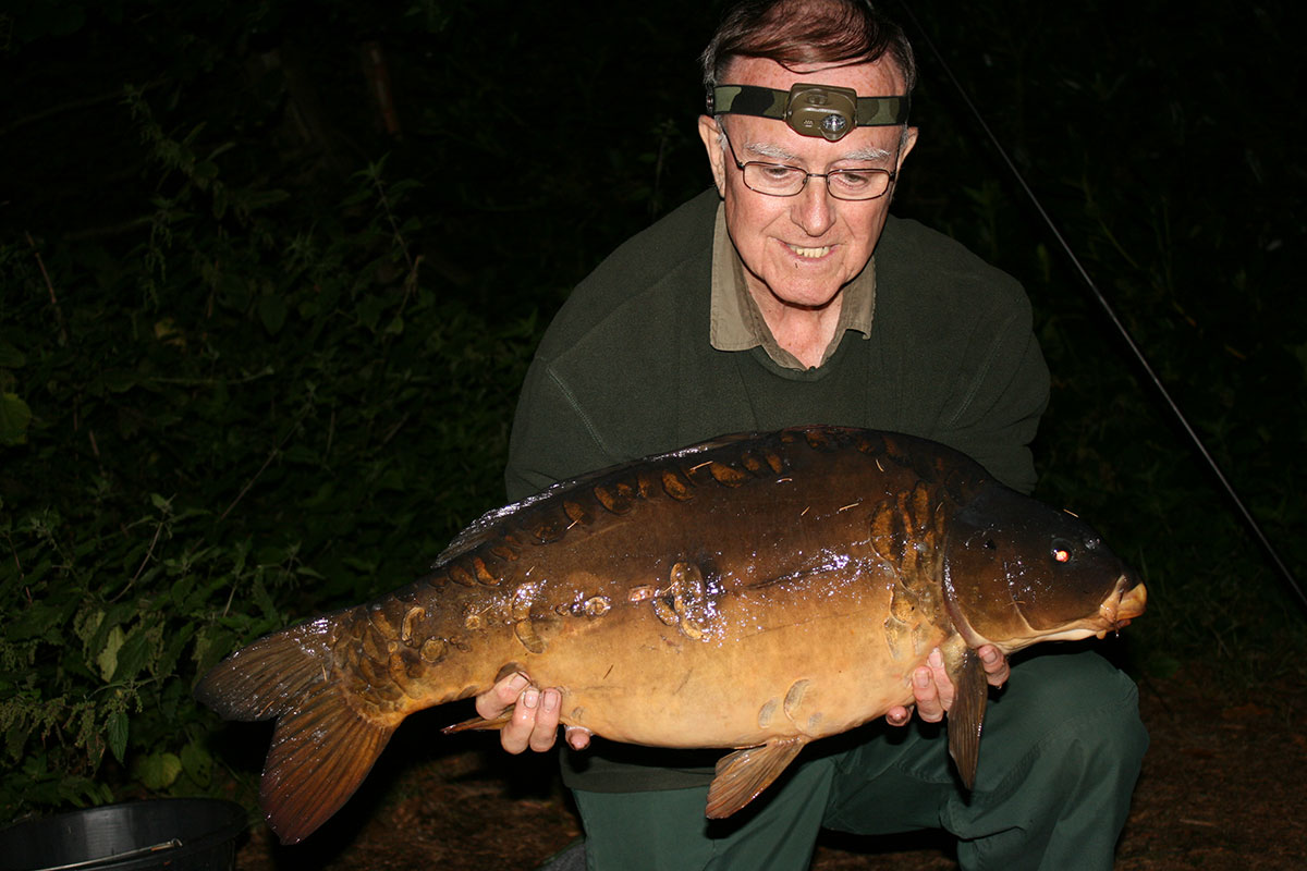 21-08 caught on Boilies