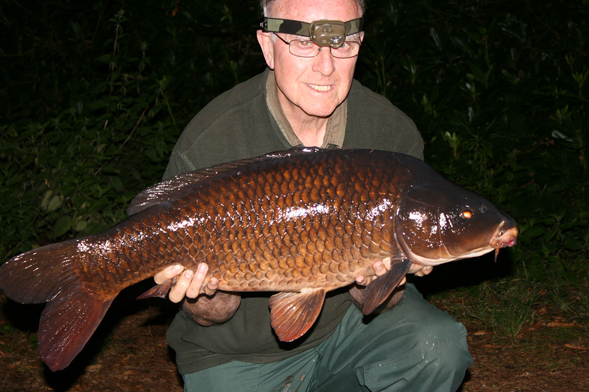 24-00 caught on Boilies
