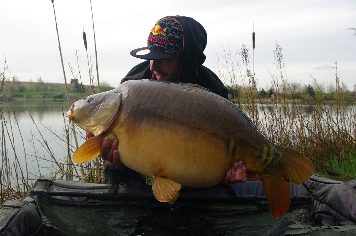 34-08 caught on B Caramel, partimix