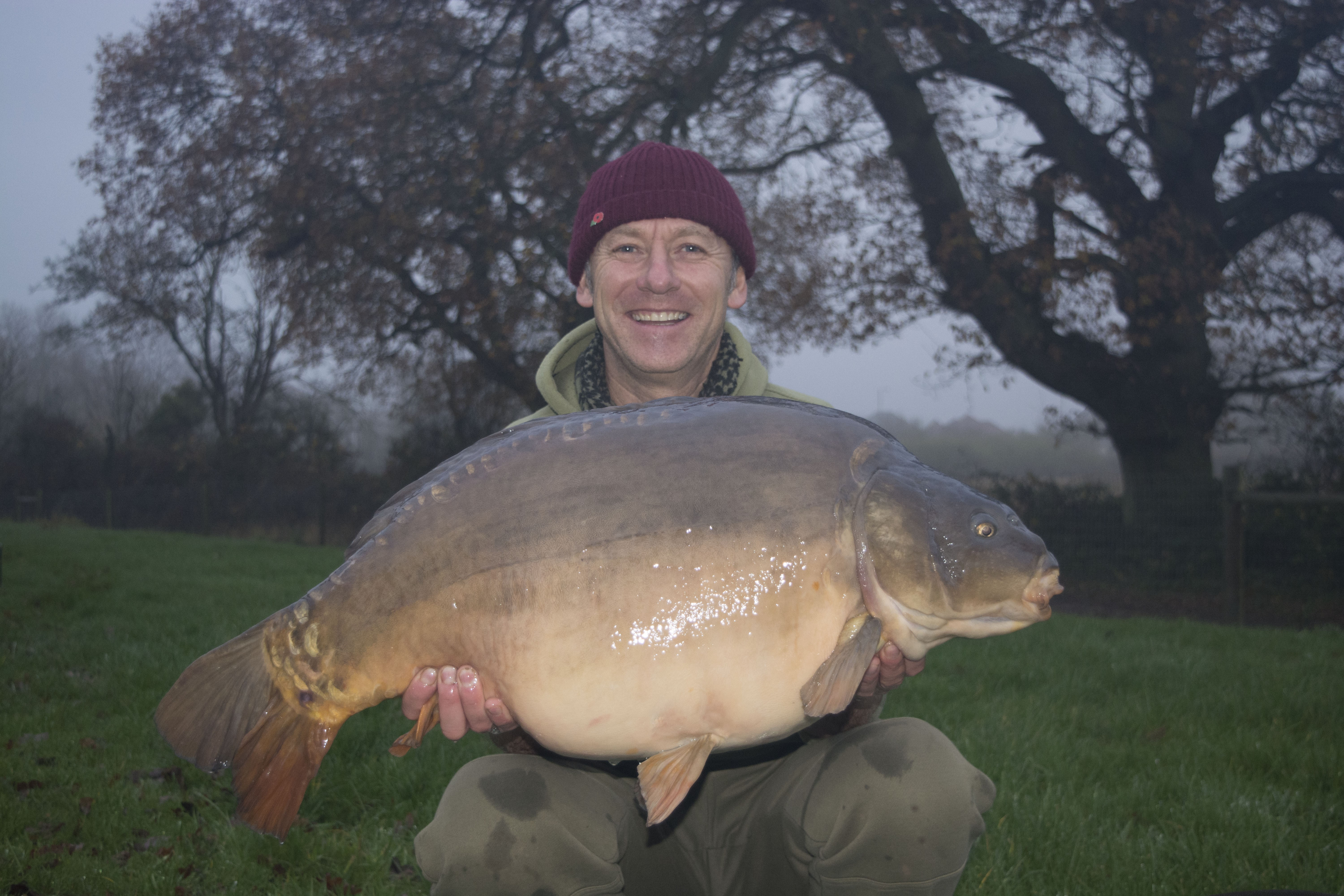 33lb 02oz  caught on