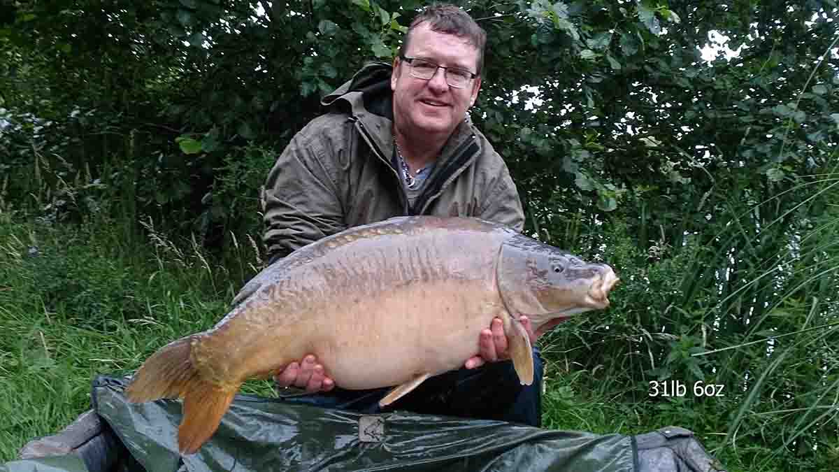 31-06 caught on Sweetcorn/ Worm