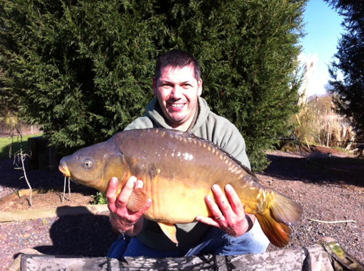 19-00 caught on boilies