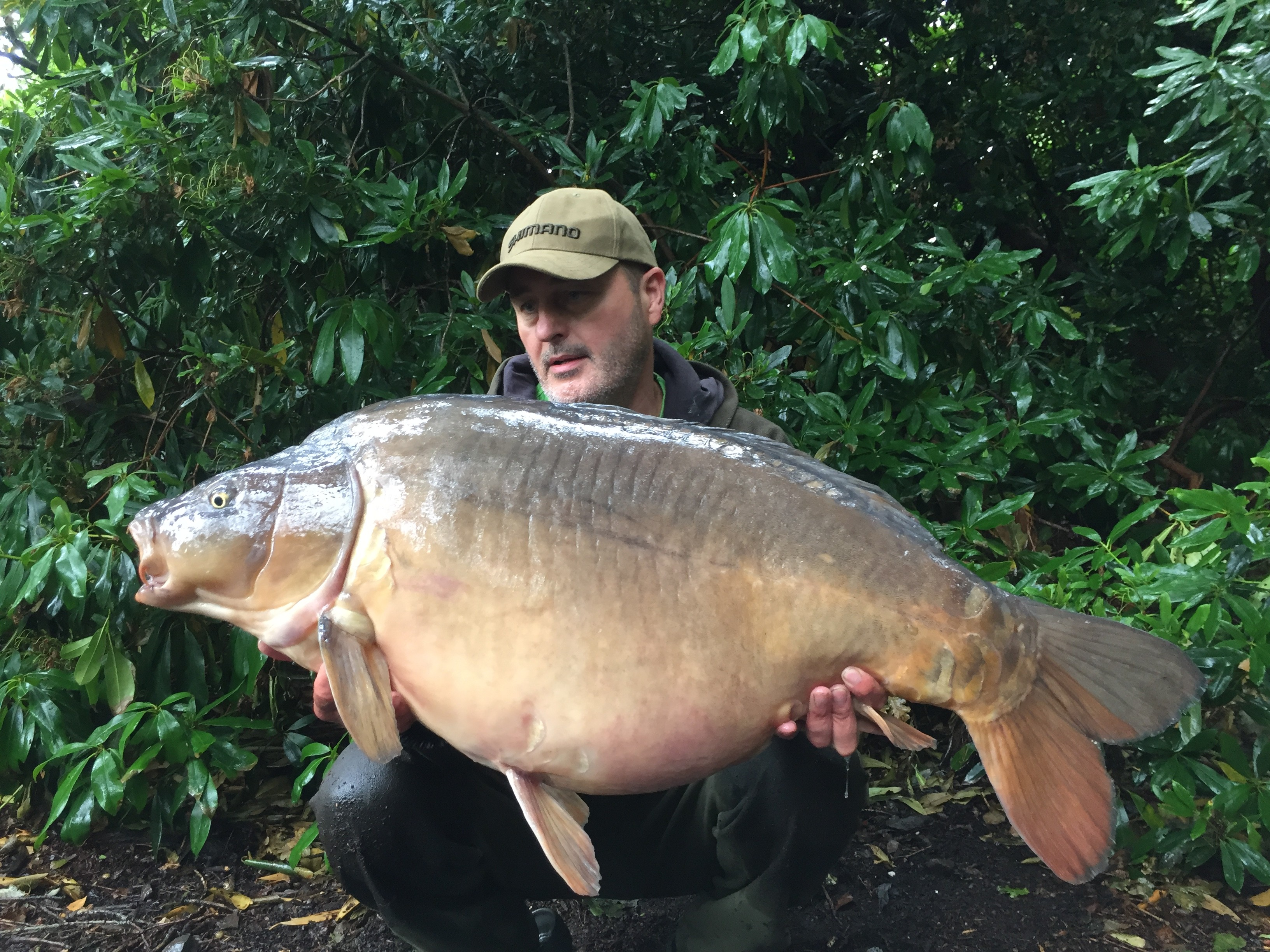 48lb 08oz 'The Big Girl' caught on