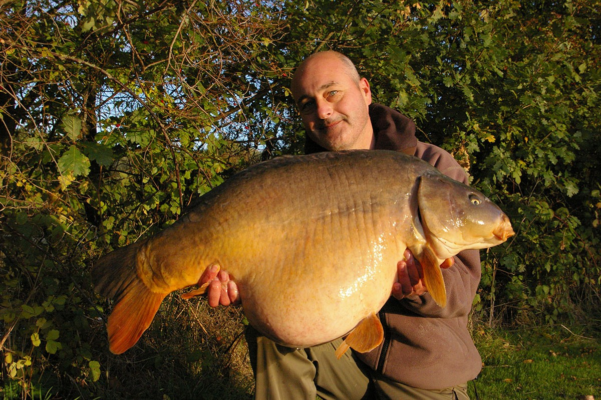 40-08 caught on Boilie