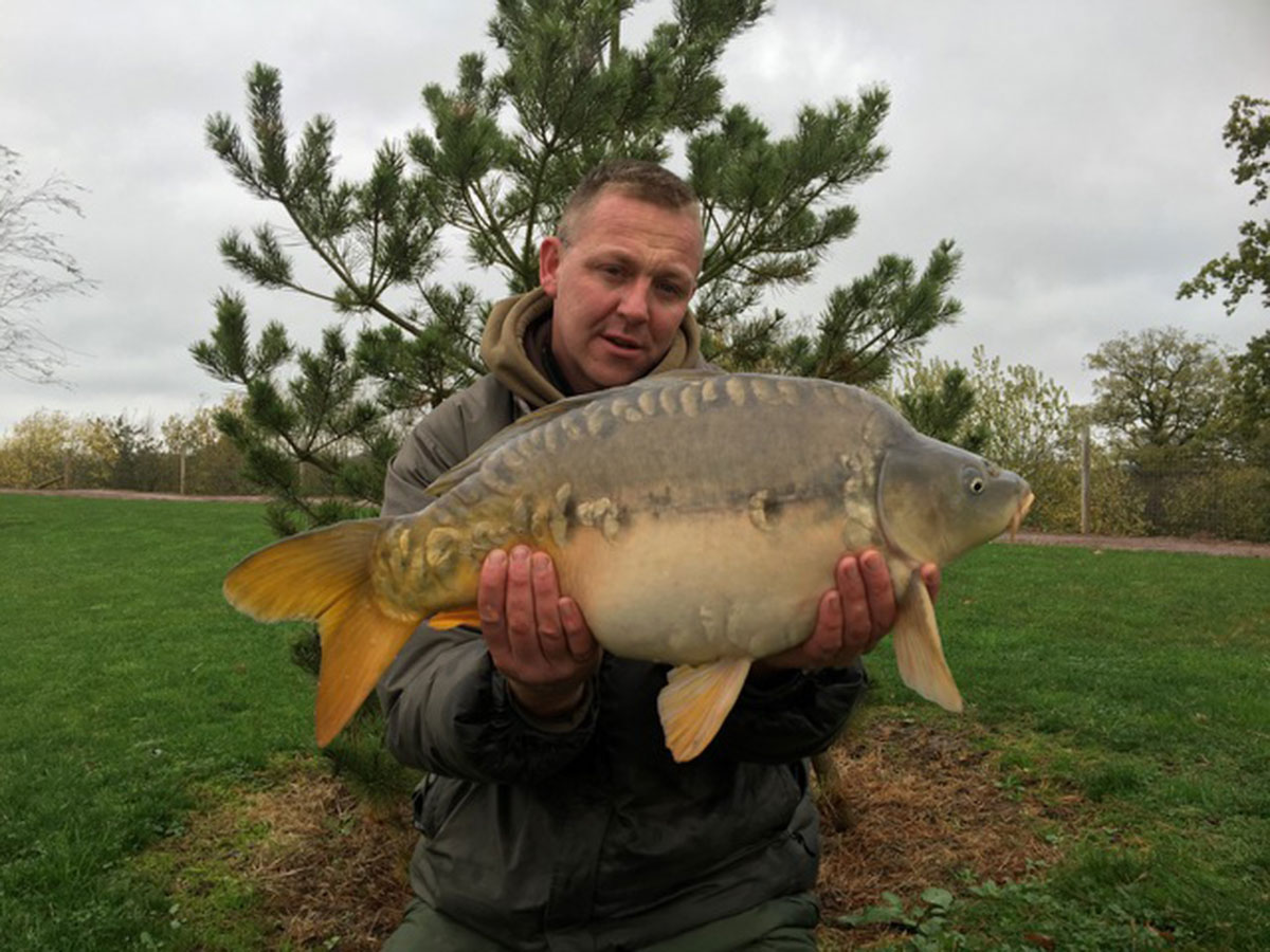 15-08 caught on Hemp, sweetcorn and parti blend creme punch