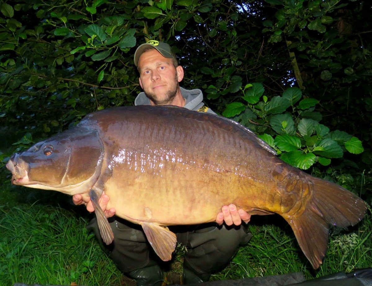 40-04 caught on Boilie