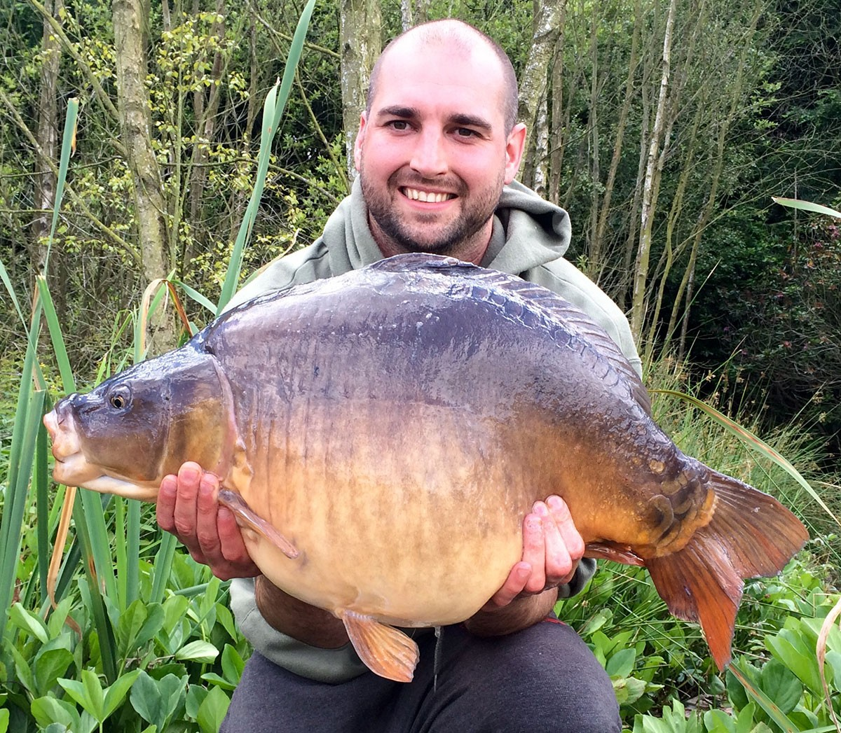 20-08 caught on Boilies