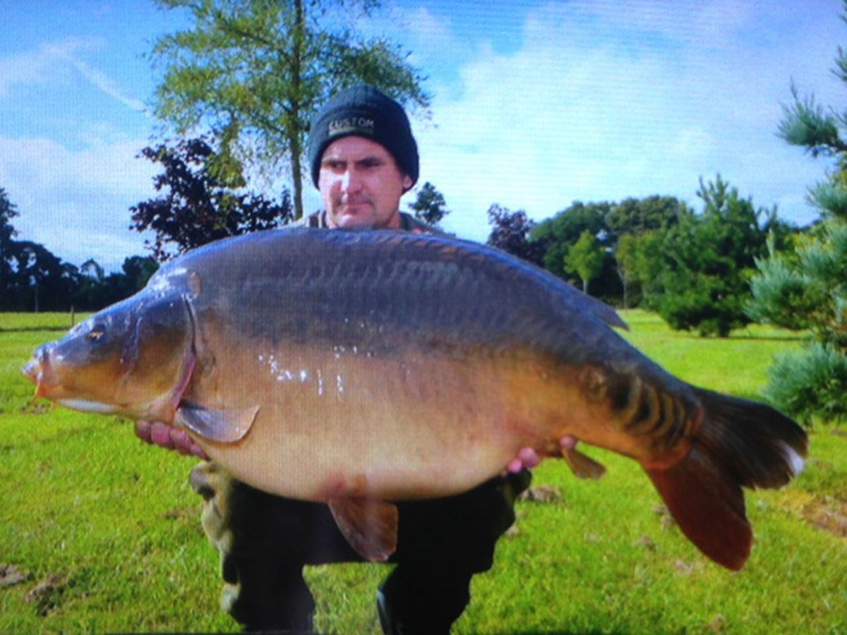 39-00 caught on Boilie