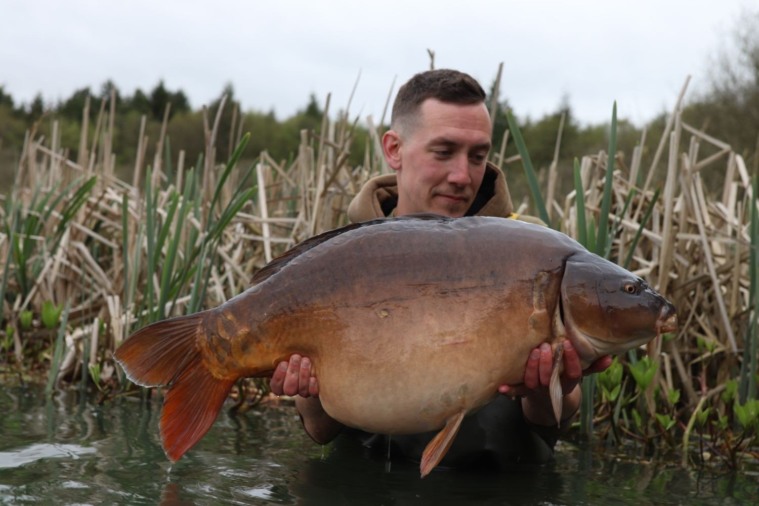 33lb 04oz  caught on Over 5kg of 18mm boilies