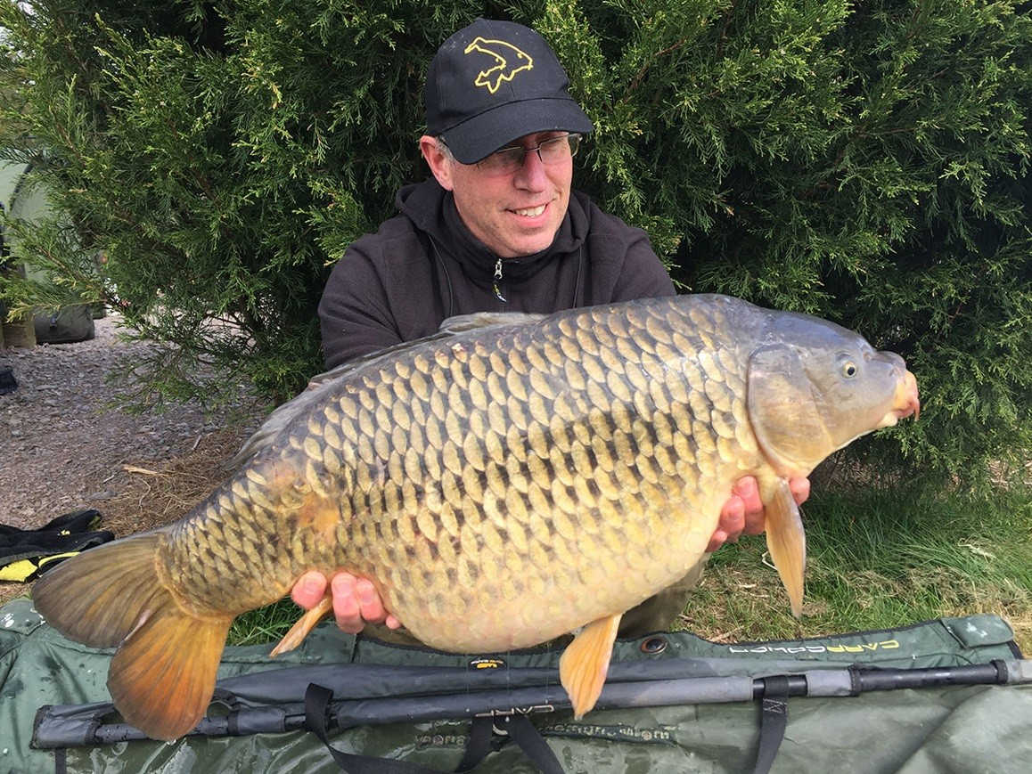18lb caught on B Caramel, Tiger Nuts & Maize