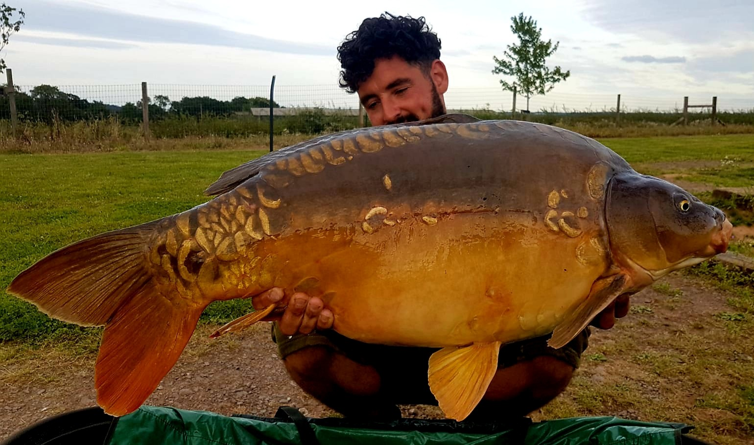 36lb 04oz 'Moonscale'  caught on