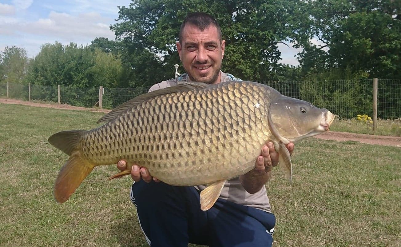 28lb 02oz caught on