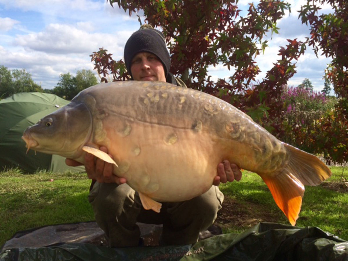 36-10 caught on Boilies
