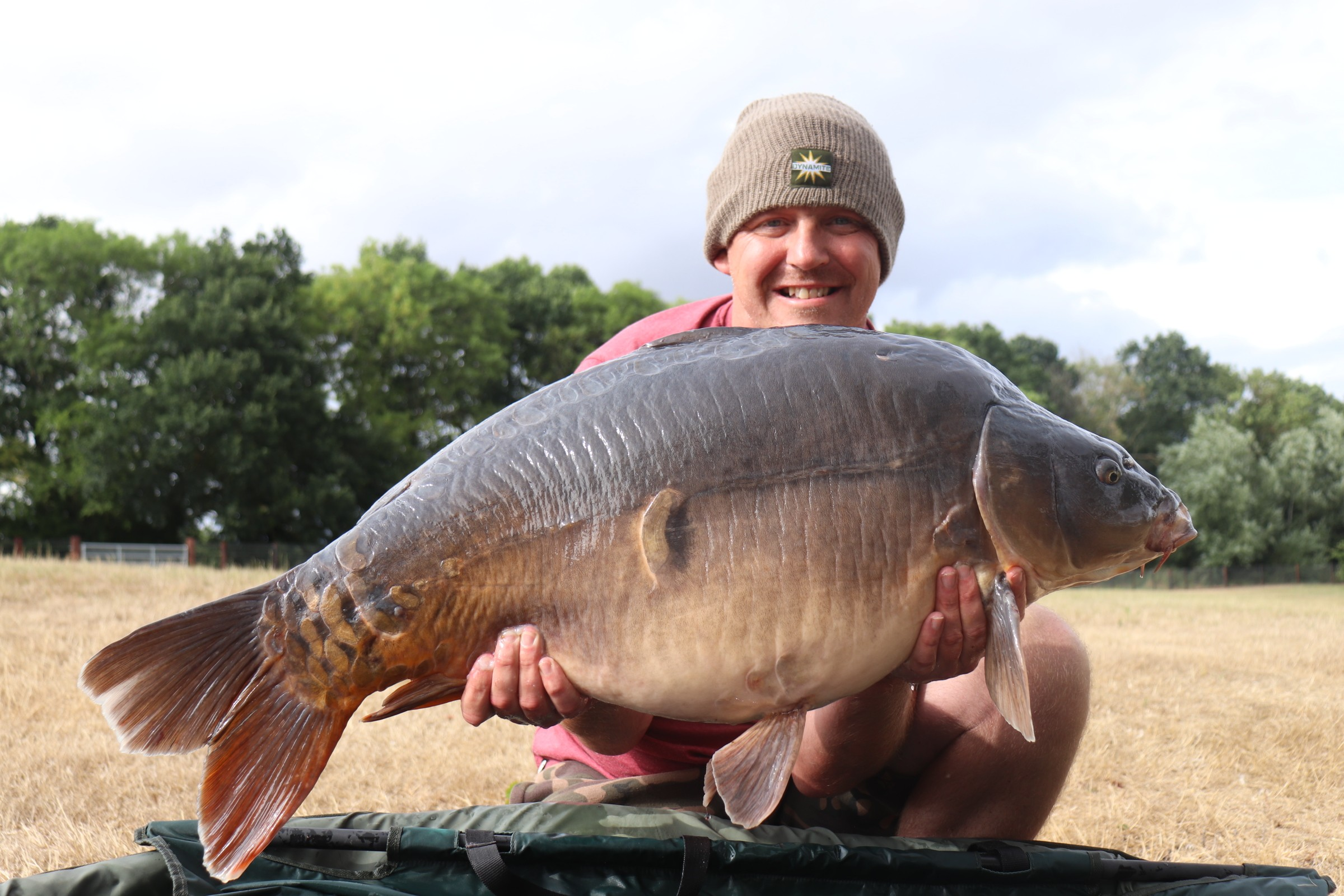 44lb 08oz 'Summers Mirror' caught on