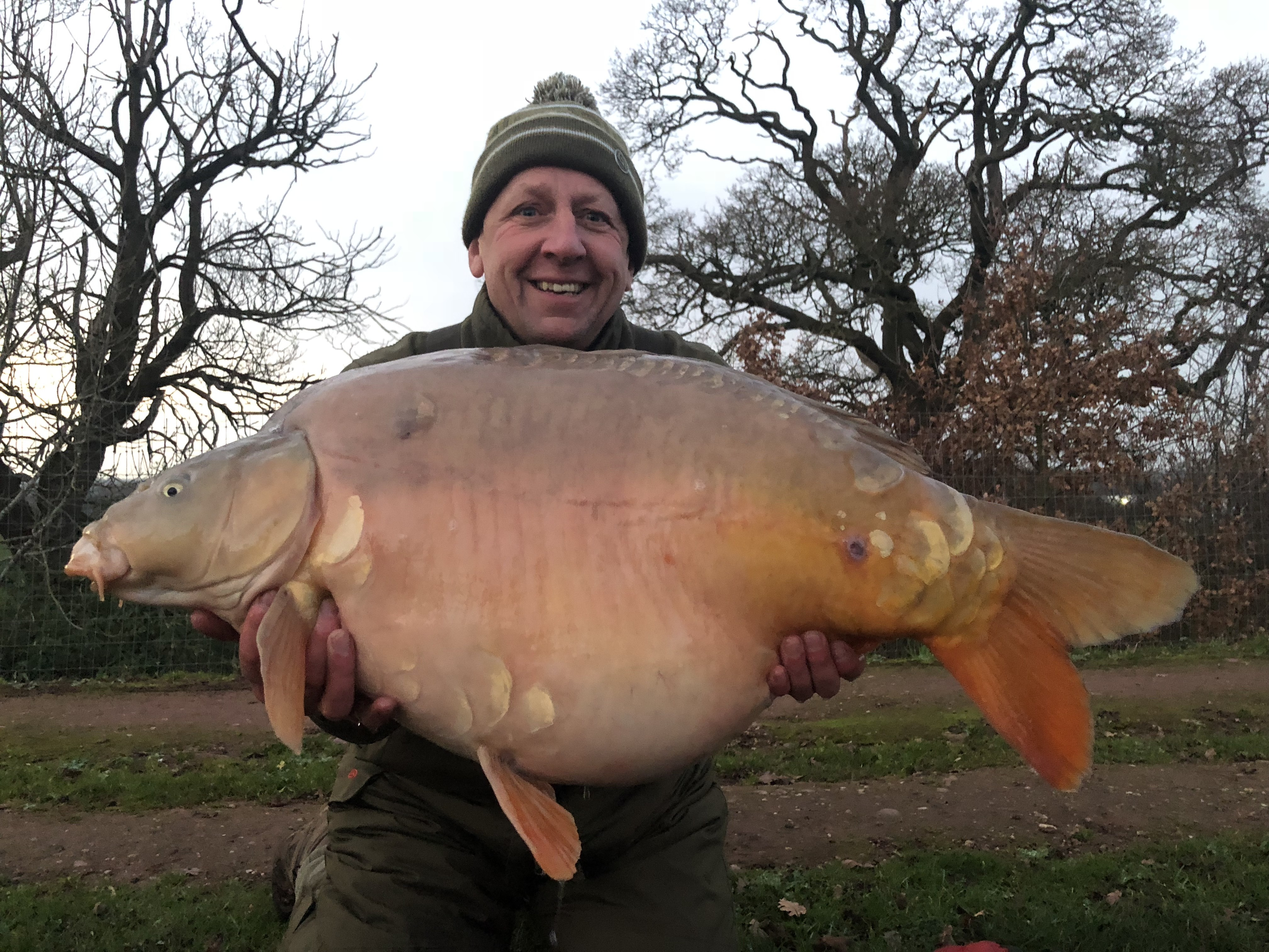 42lb 08oz 'Olly'  caught on