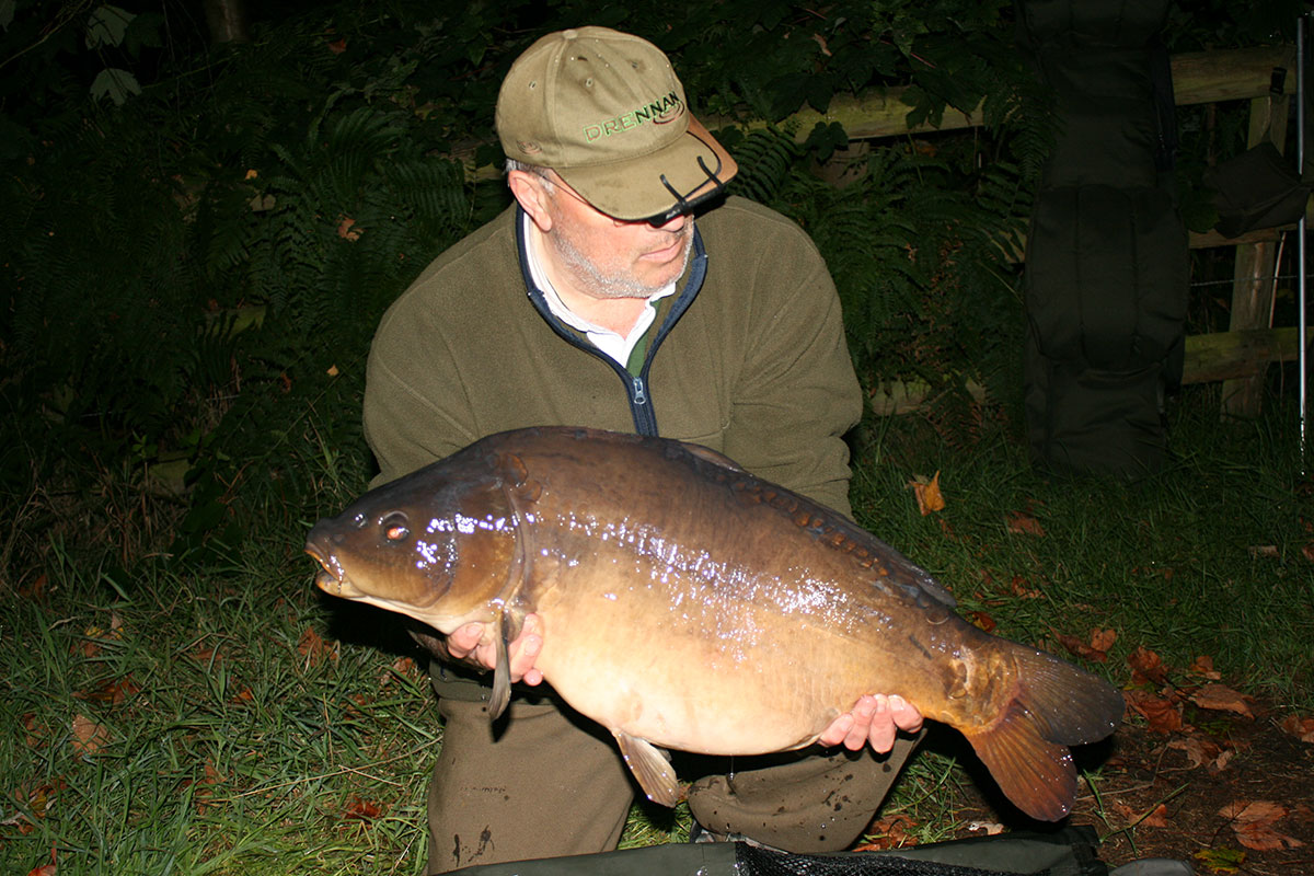 27-00 caught on Boilies