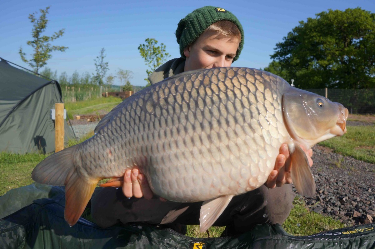 20lb 8oz caught on Boilie