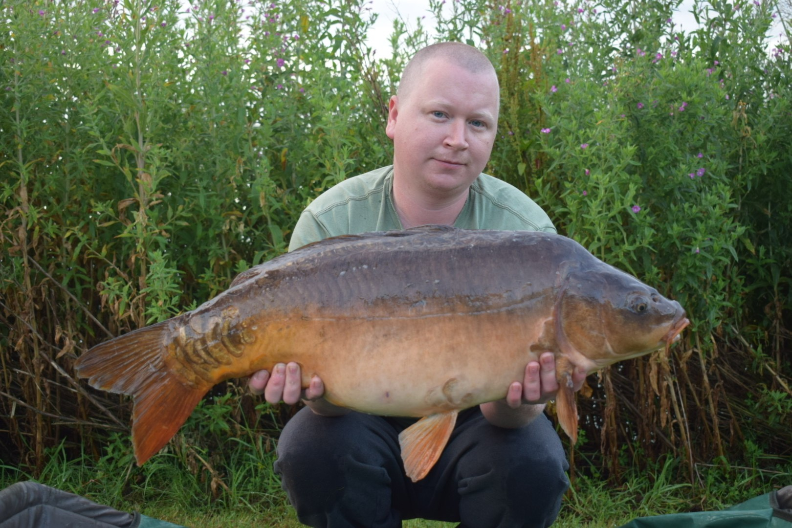 23lb 08oz  caught on