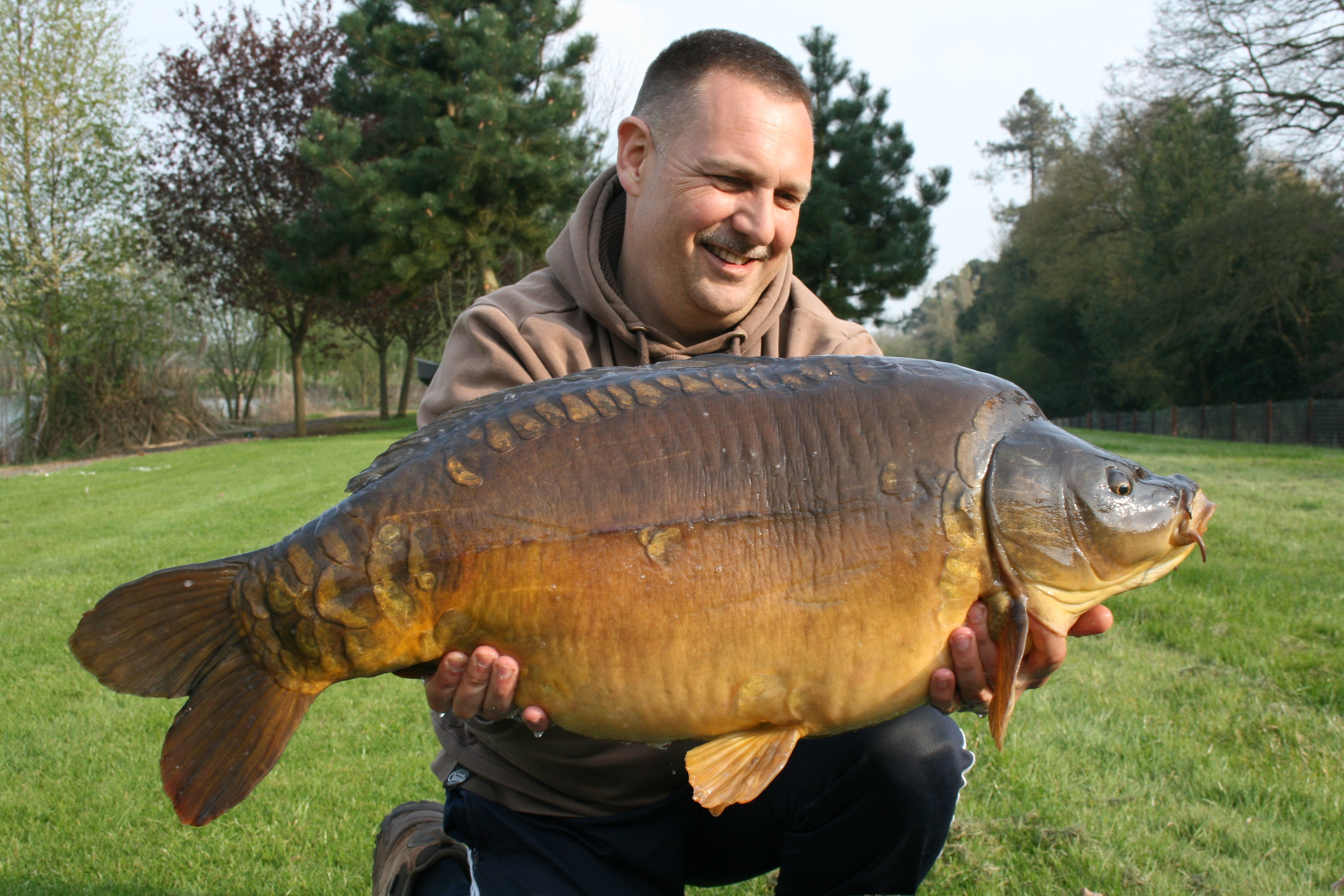 33lb 0oz 'The Angry Mirror'  caught on