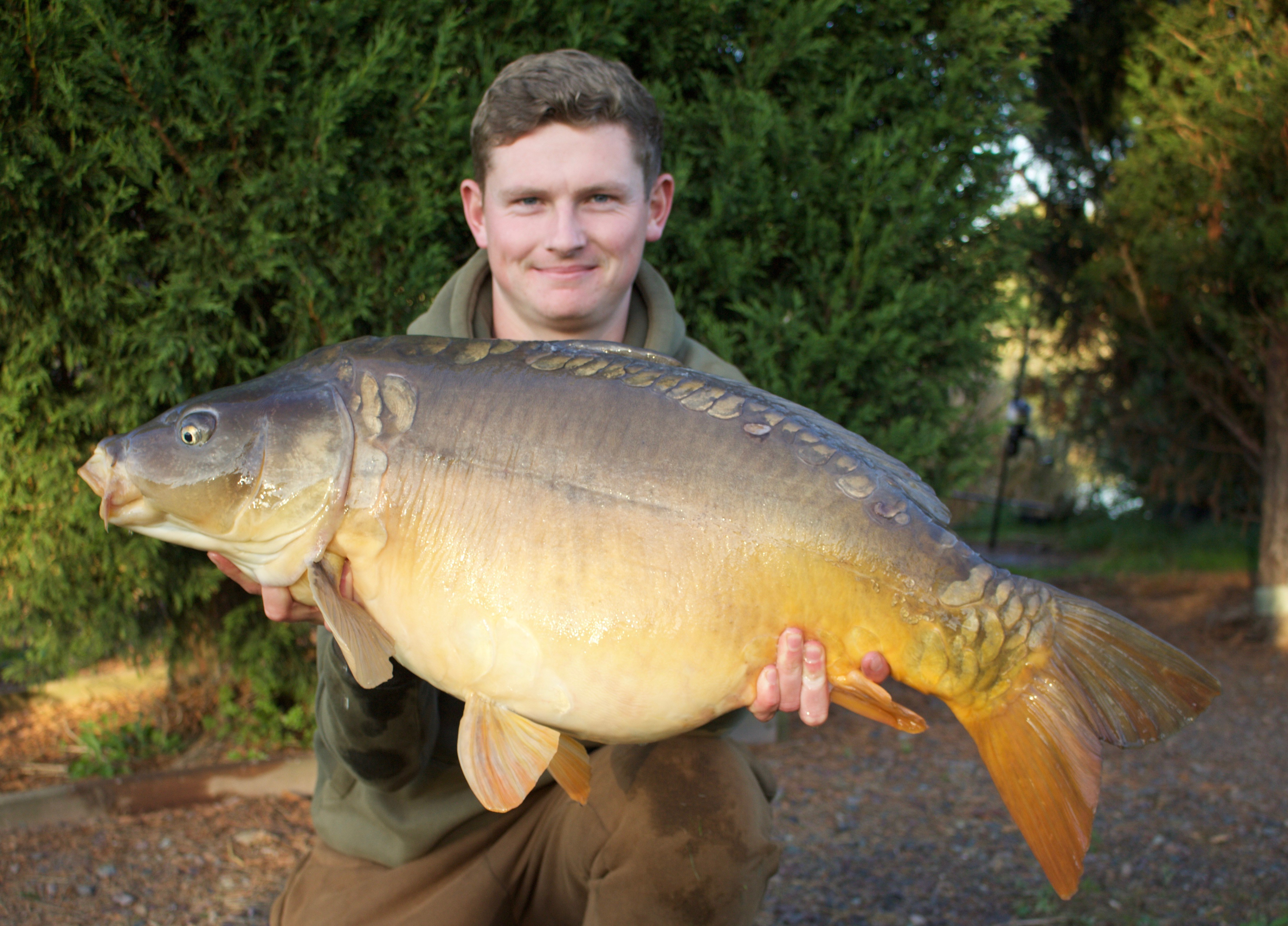 33lb 0oz 'The Angry Mirror'  caught on The Edge