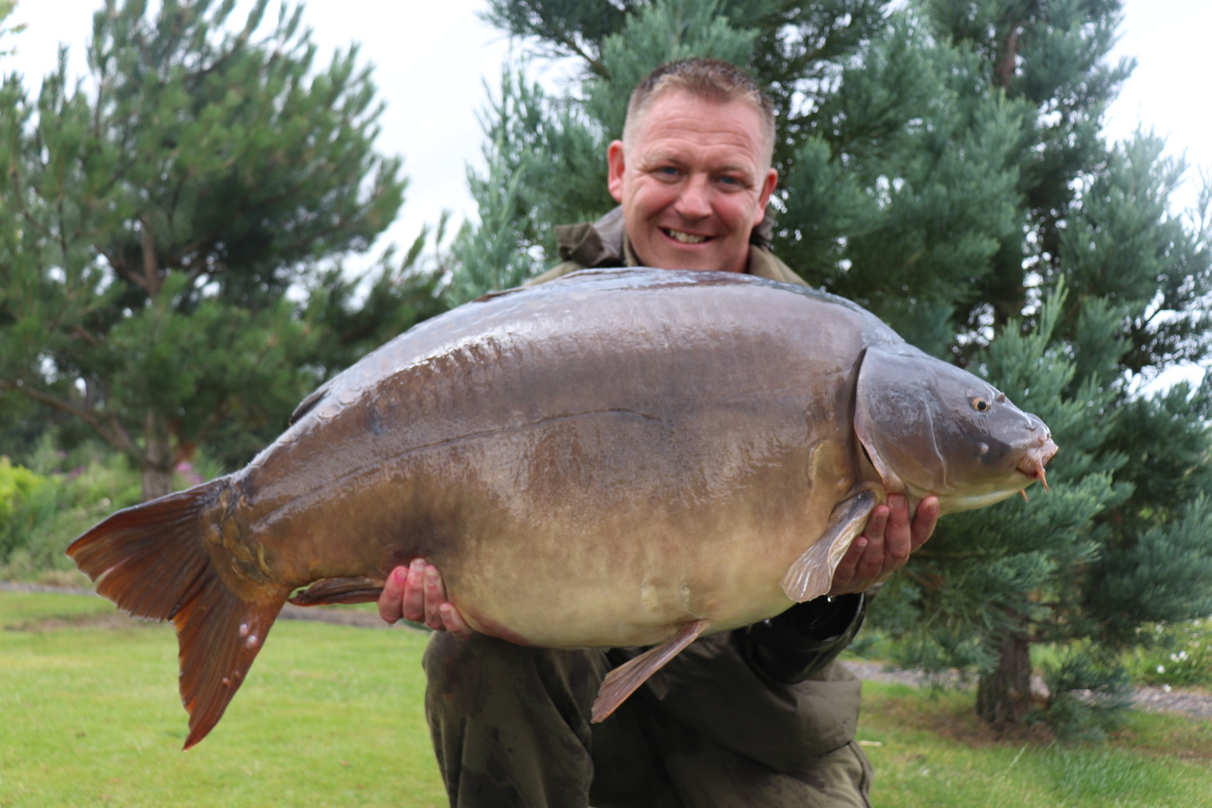 54lb 08oz 'Captain Scarlet'  caught on