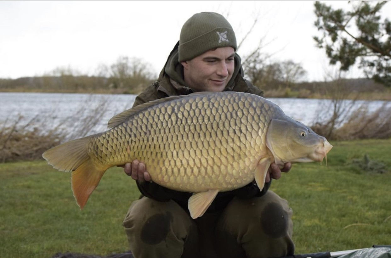 24lb 08oz  caught on