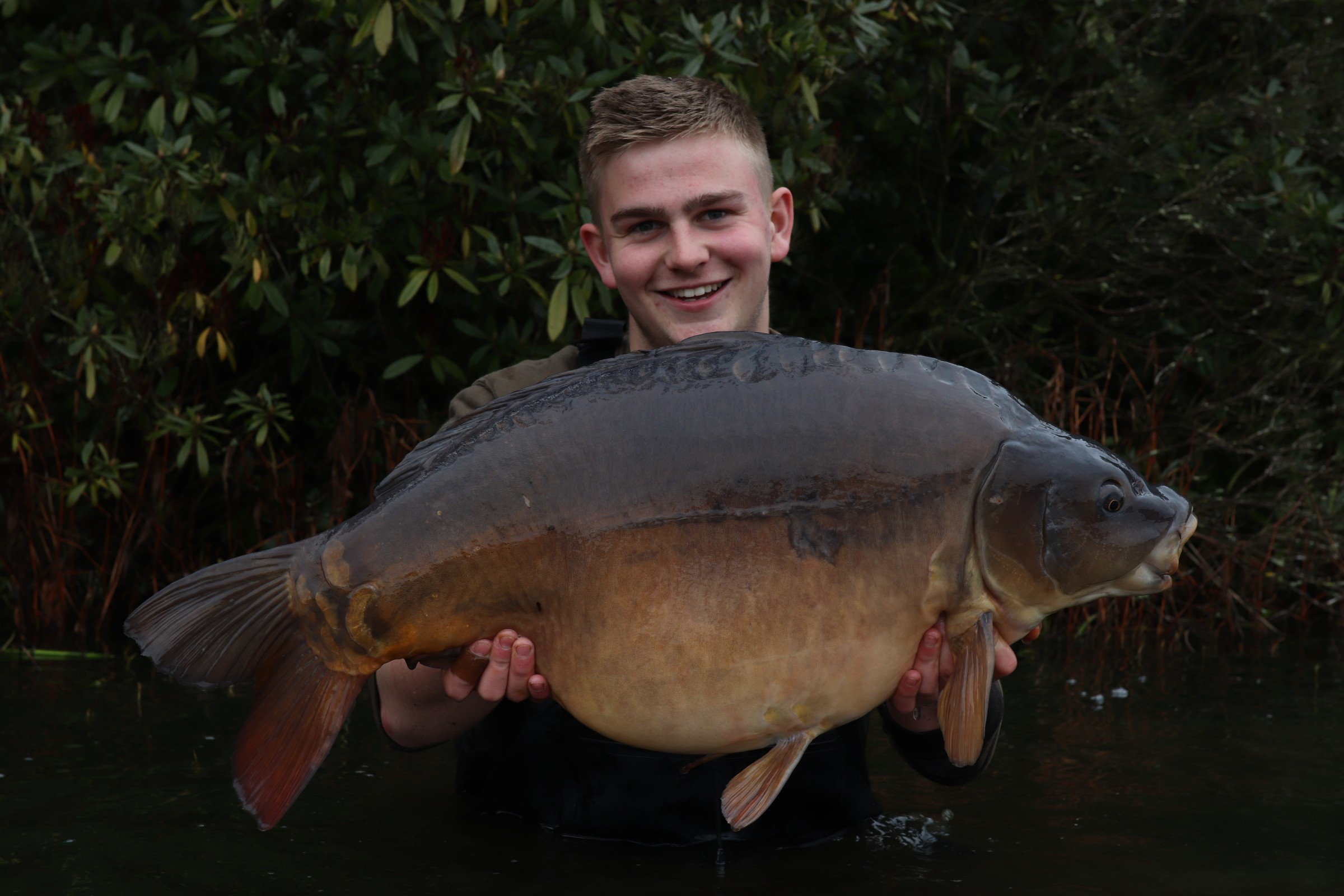 30lb 06oz  caught on Boilies