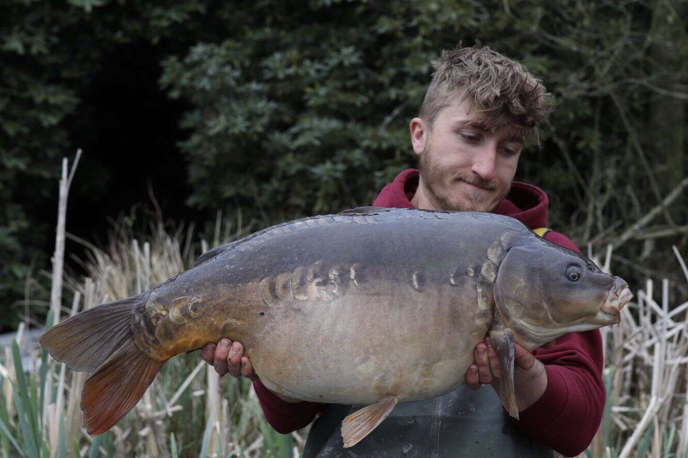 28lb 0oz caught on Over 5kilo of boilies