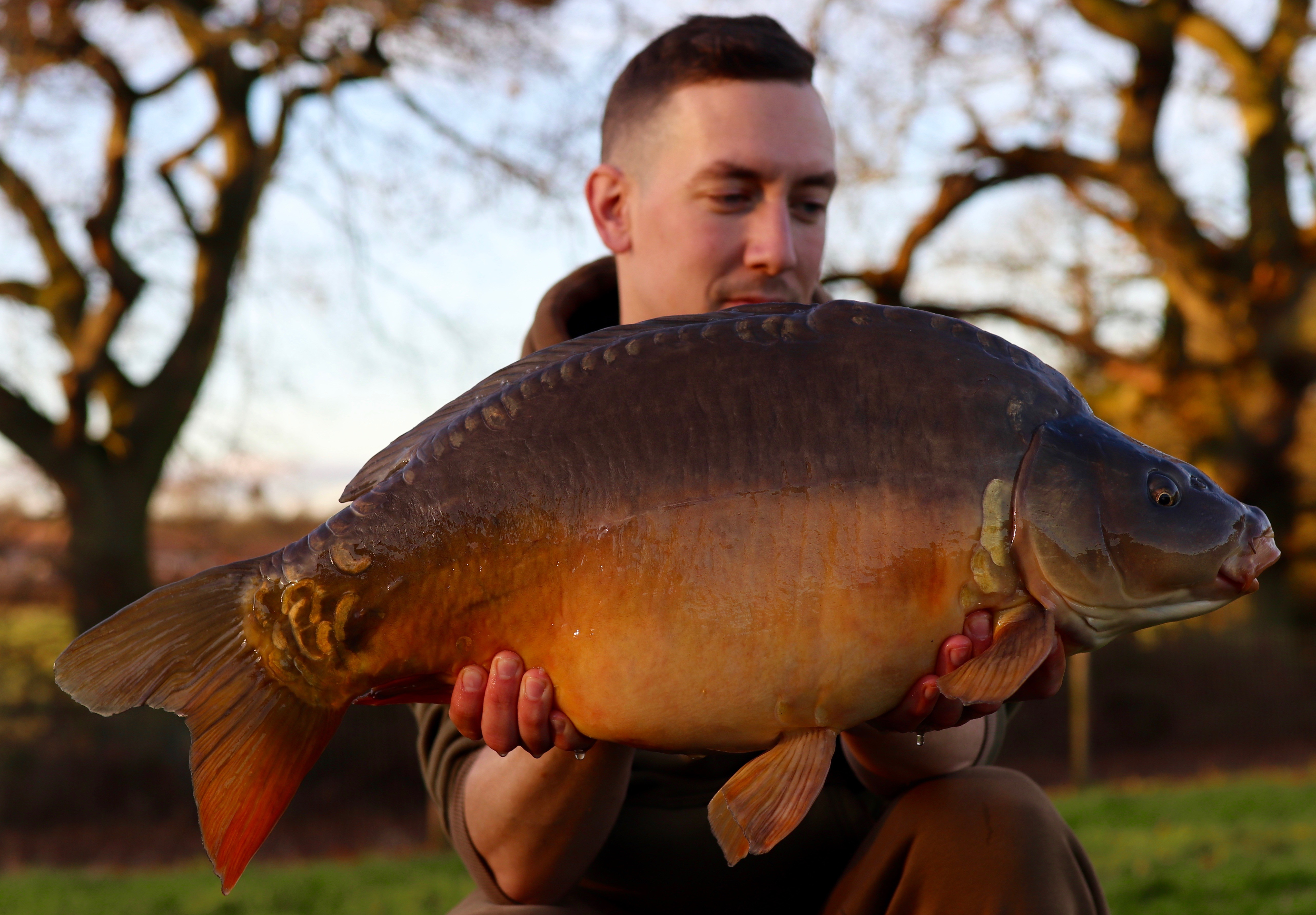 20lb 04oz caught on Pop-up with Maggots