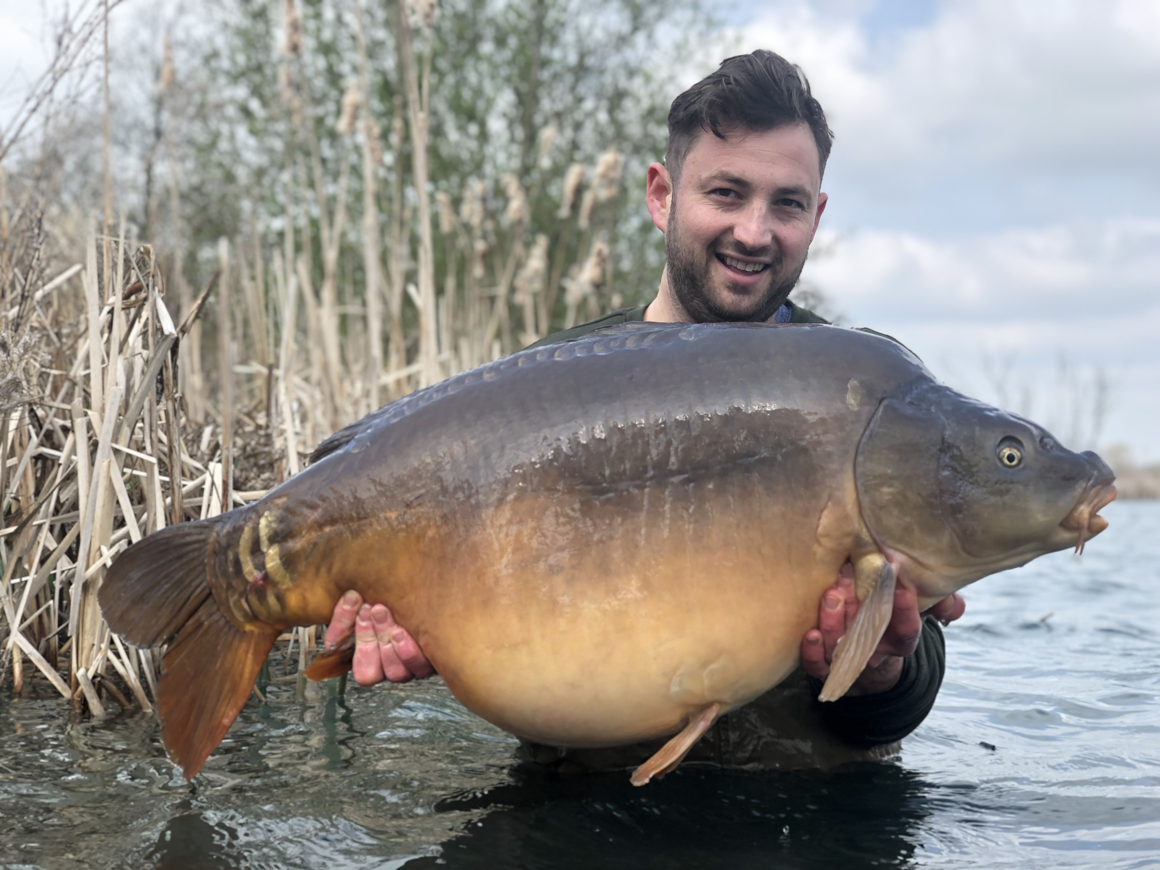 46lb 04oz 'Richie' caught on 3 kilo of The Edge and 18mm Edge Wafter