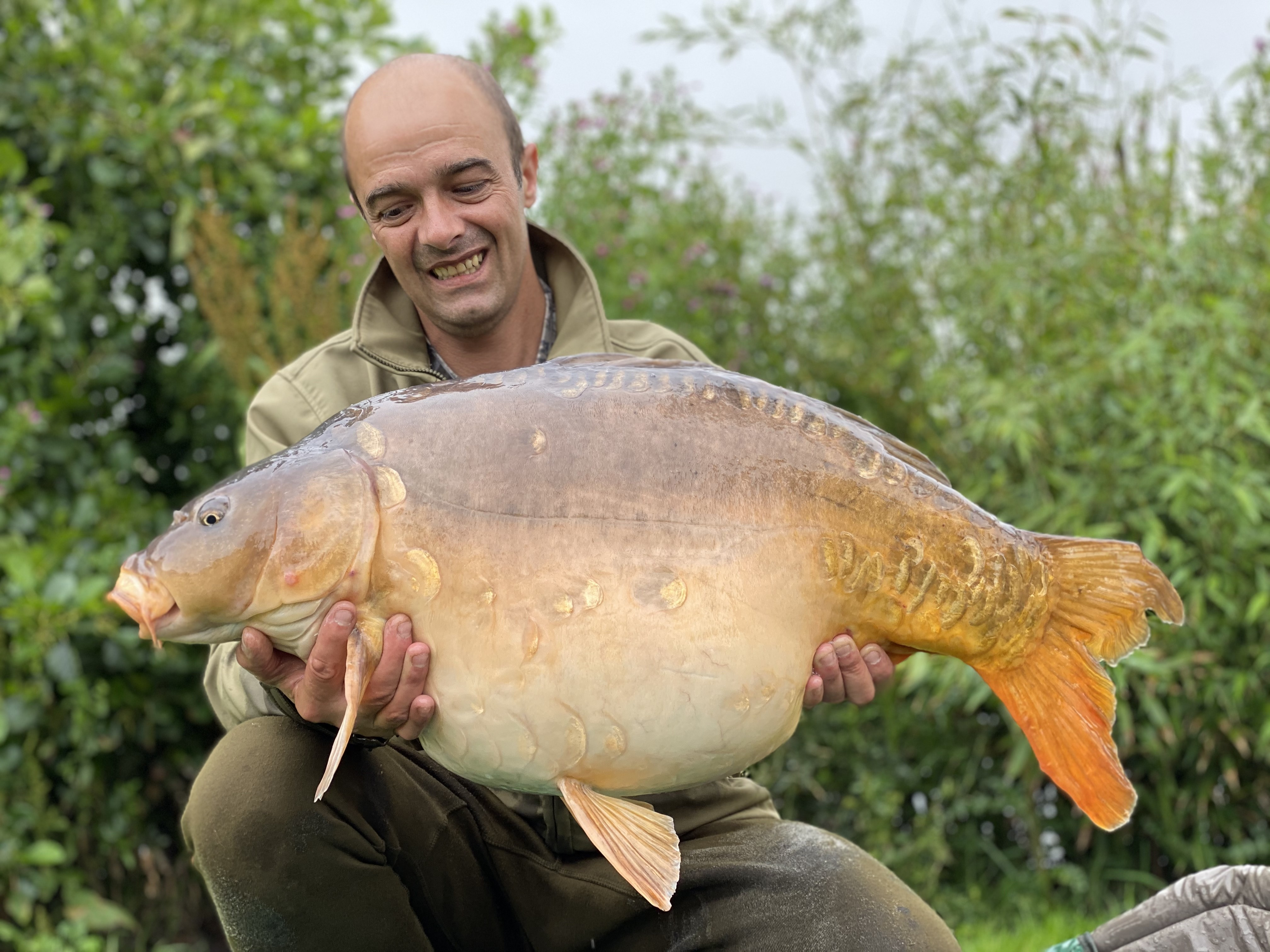 41lb 02oz  caught on