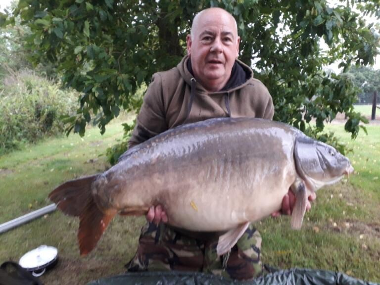 54lb 0oz  caught on
