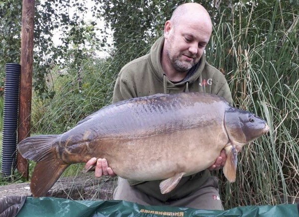 37lb 12oz 'Patch'  caught on