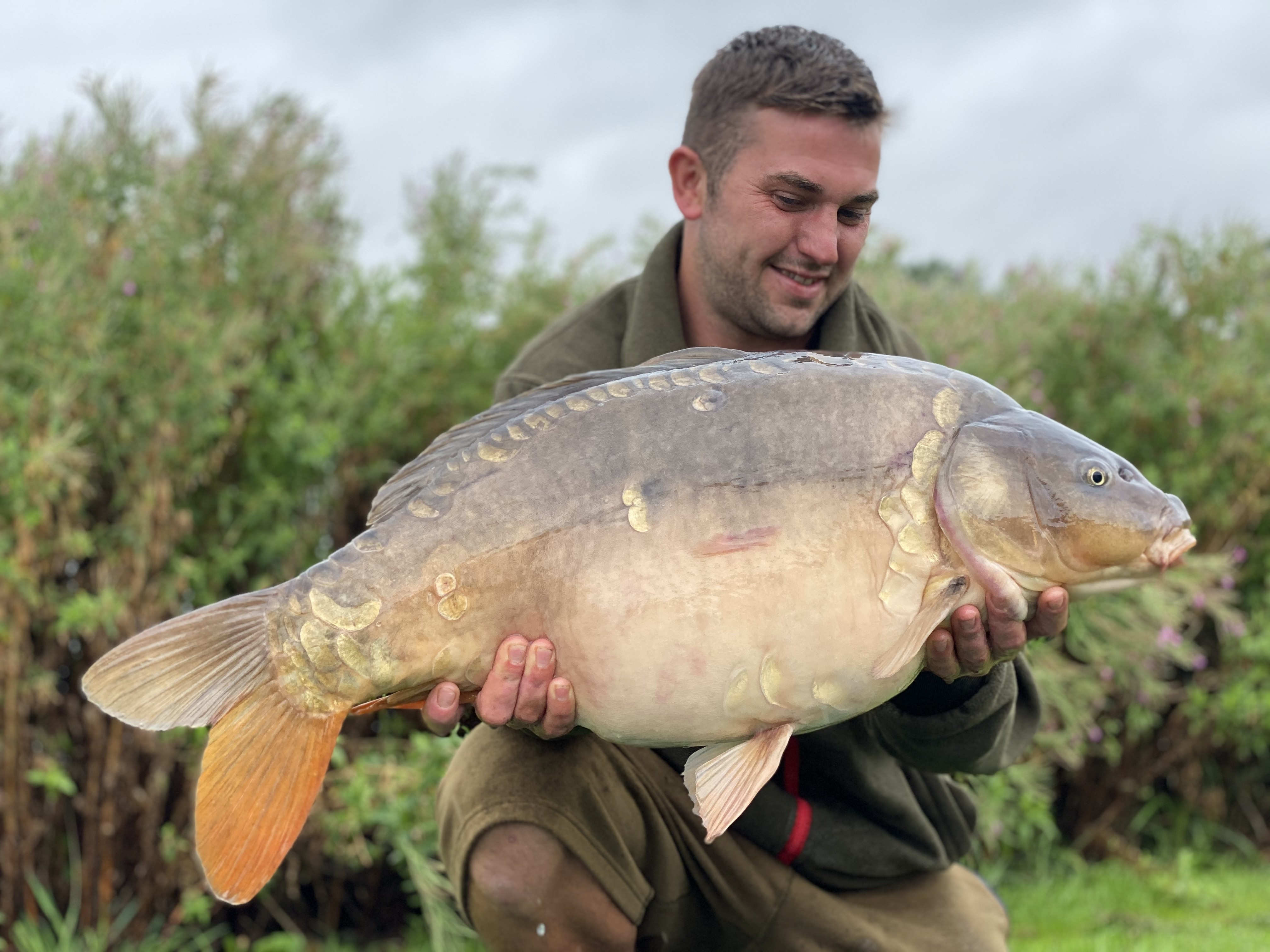 28lb 08oz  caught on
