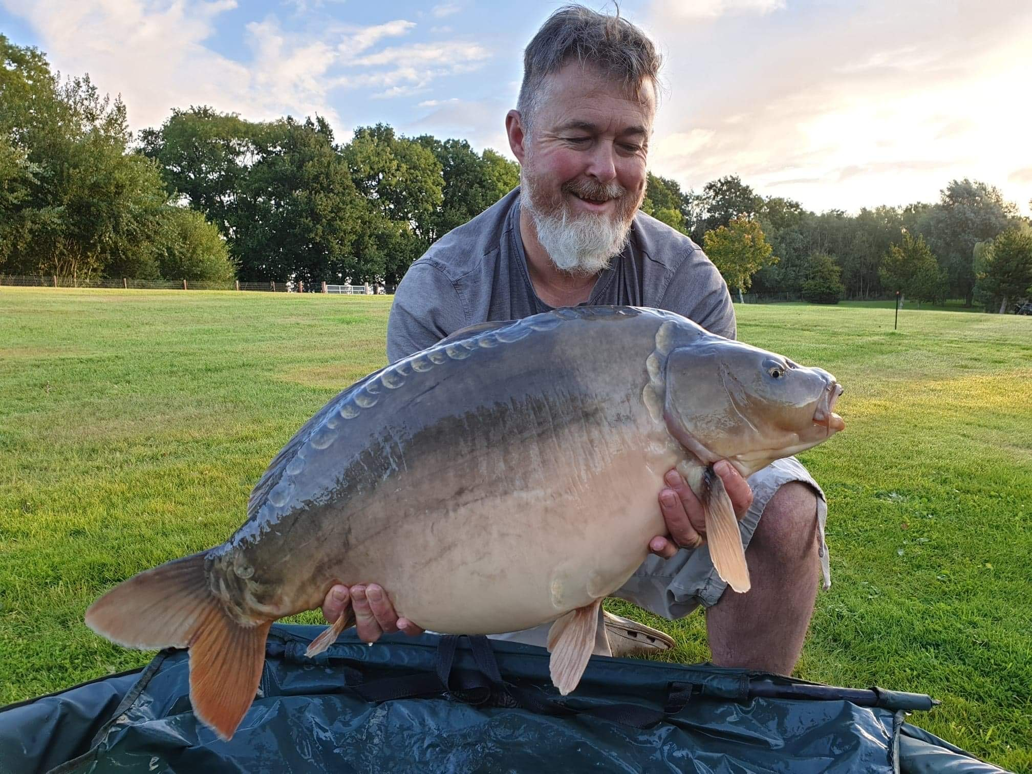 27lb 08oz  caught on