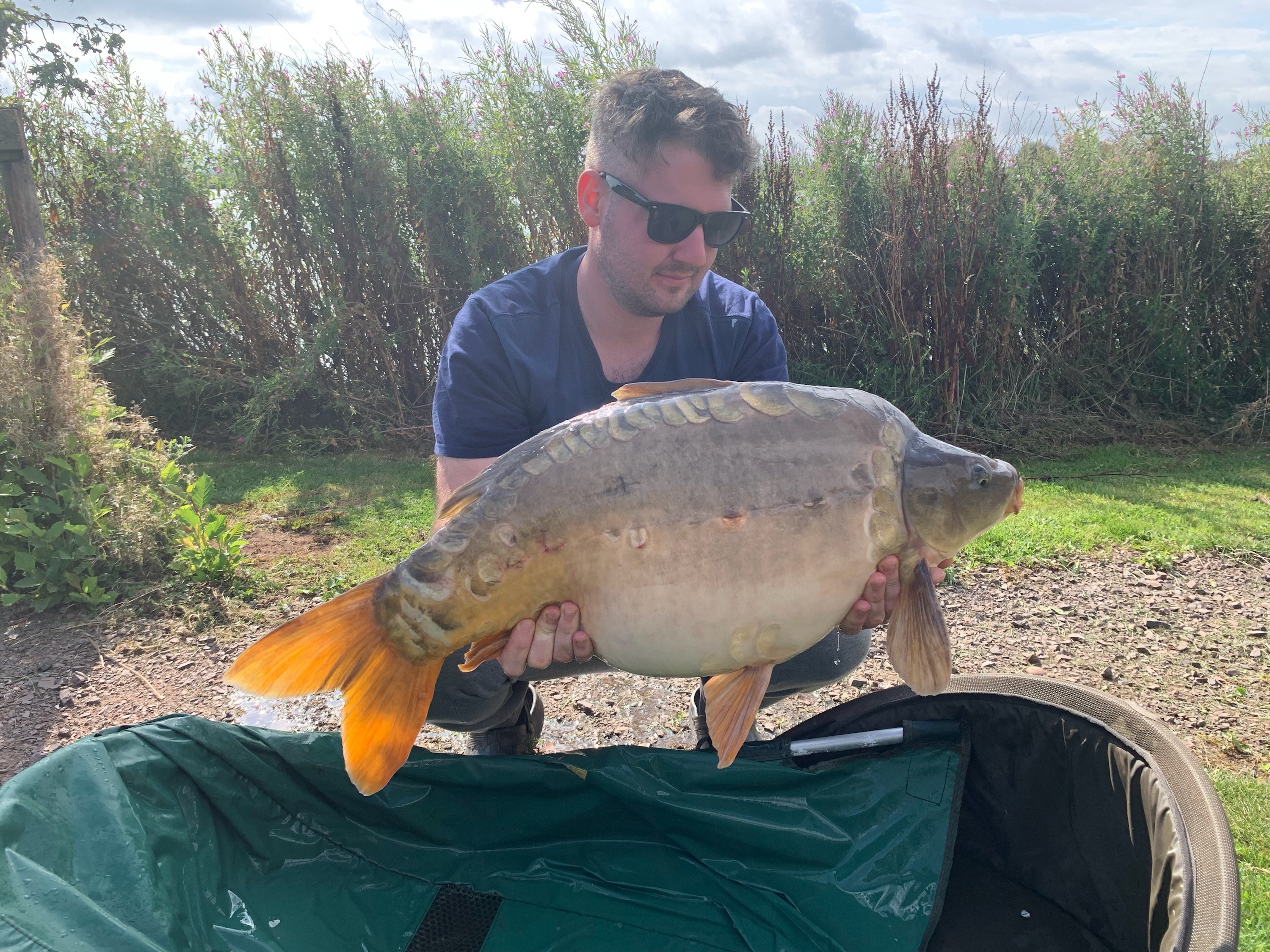 25lb 0oz  caught on
