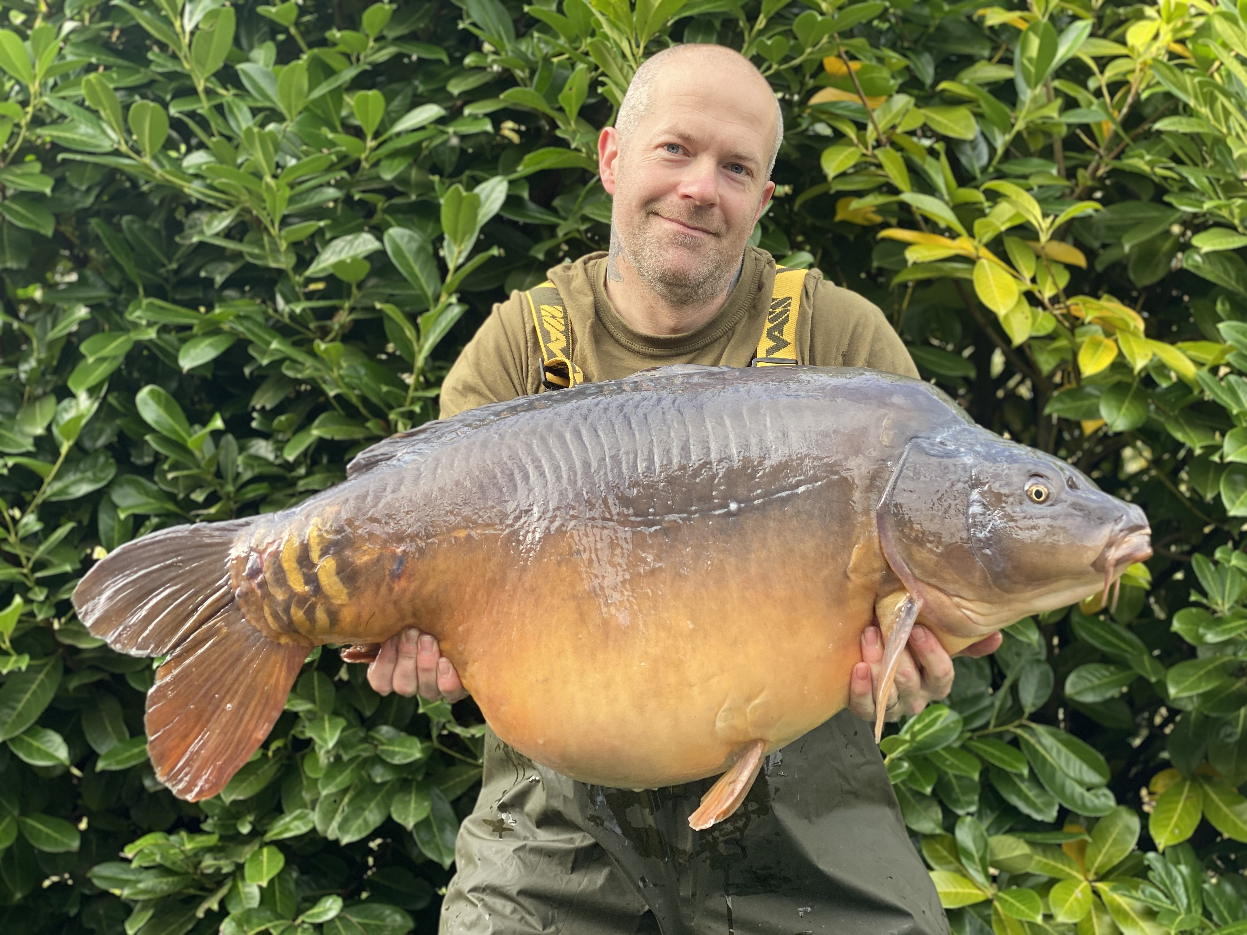 52lb 02oz 'Richie' - Current Lake Record  caught on