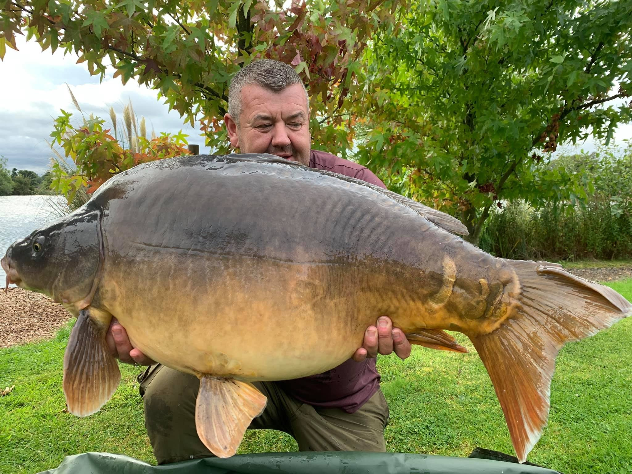 42lb 04oz 'Fatty' caught on