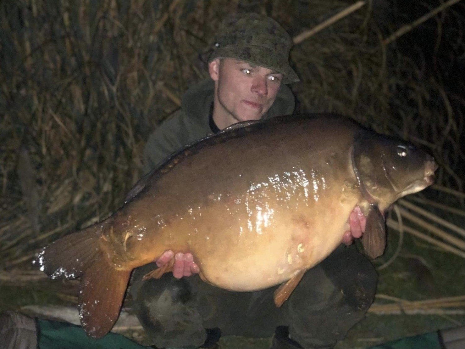 37-08 'Beefy' caught on